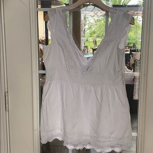 Beautiful white blouse for the Sumer